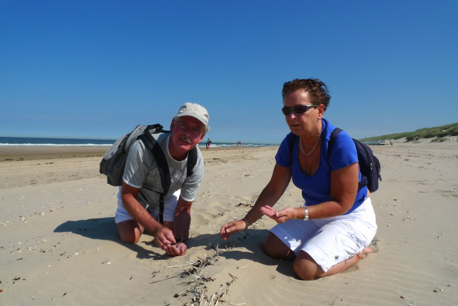 Hans and Marja van Weenen have been collecting plastic flotsam at their beach since the 1970s