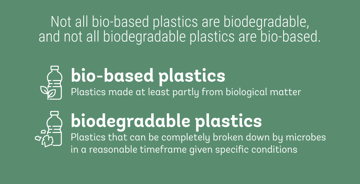 Are bioplastics better for the environment than conventional