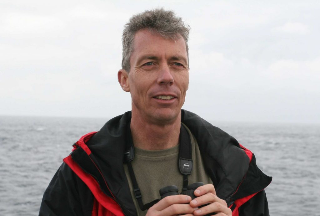 Peter Ryan is the director of the Fitzpatrick Institute for African Ornithology. He started to research the impacts on plastics in birds in 1984. Photo by John Graham.