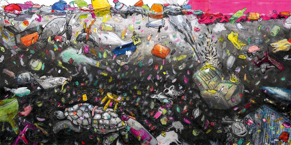 Plastik im Meer – anja krieger