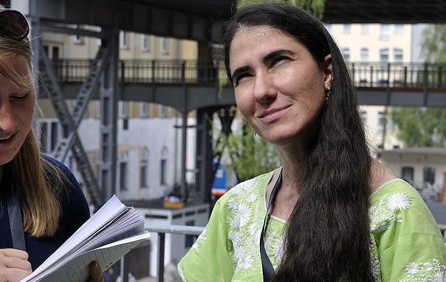 Yoani Sánchez bloggt aus Kuba
