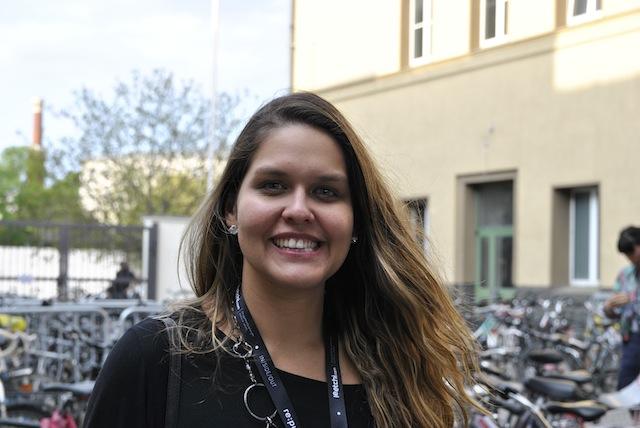 Daniela B. Silva auf der re:publica 2013. Foto: Anja Krieger